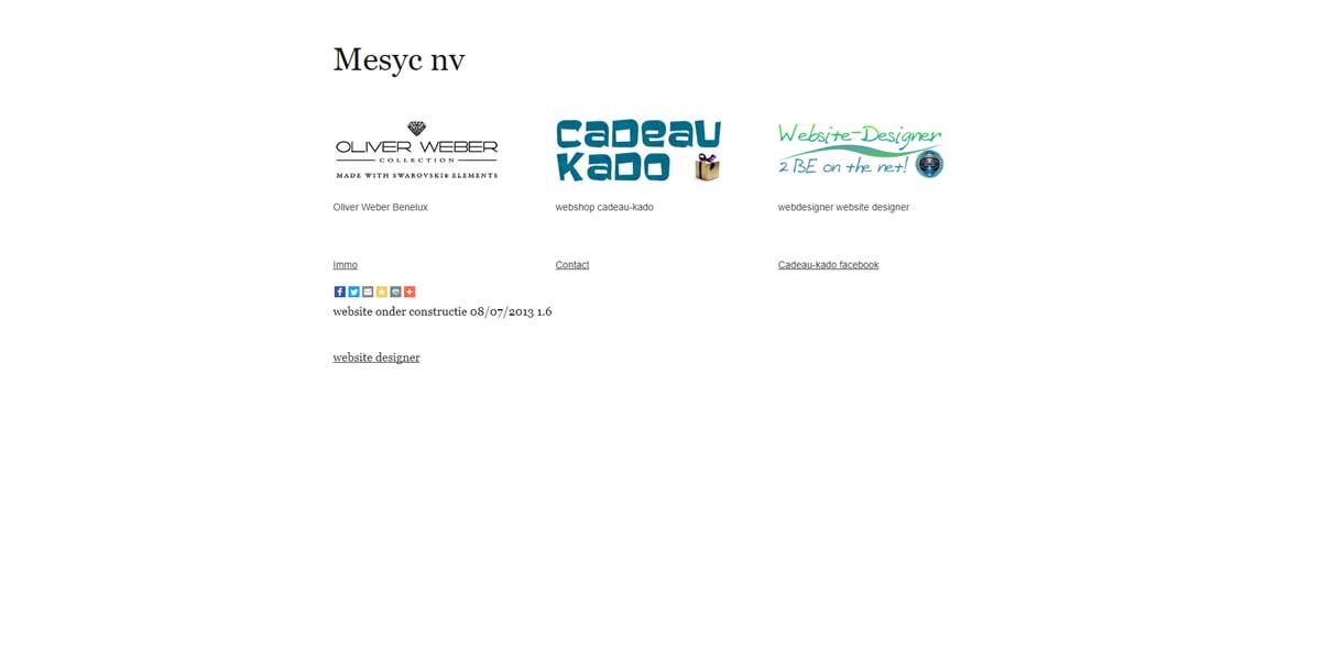 webdesign mesyc nv